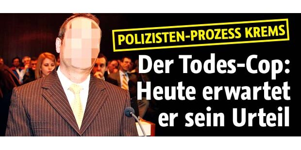 Justiz-Skandal um Todes-Cop in Krems