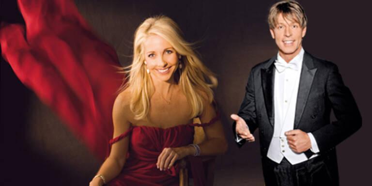Uschi Fellner und Dominic Heinzl: Style-Check am Opernball