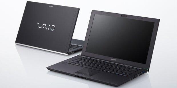 Sony Vaio Z: Neue Top-Subnotebooks starten