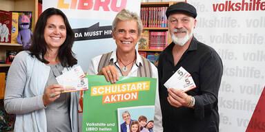 Petra Jobstmann, Thomas Brezina, Erich Fenninger