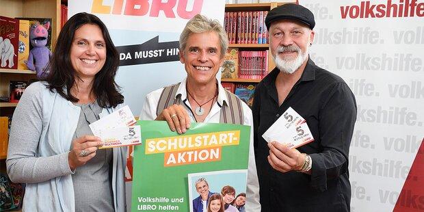 Volkshilfe & Libro erleichtern Schulanfang