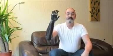 Menschlicher Terminator zeigt was er kann