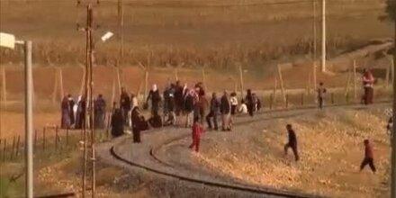 11.000 Flüchtlinge binnen weniger Stunden