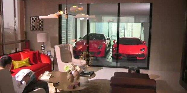 Das ist wohl die coolste Garage der Welt