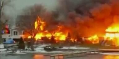 Feuerteufel legte Brand und tötete Einsatzkräfte