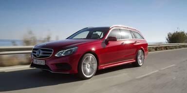 Mercedes stellt die neue E-Klasse (2013) vor