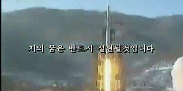 Nordkorea läßt USA in Video beschießen