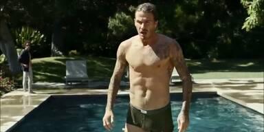 Beckham jagt halbnackt durch Beverly Hills