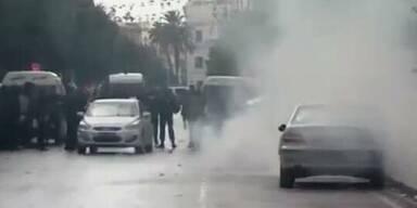 Tunesien: Krawalle nach Mord an Politiker