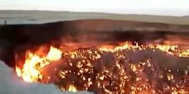 Meteorit hinterlässt gigantischen Krater