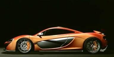 Hybrid-McLaren P1 mit satten 916 PS