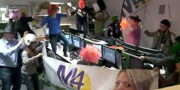 Harlem Shake @ M4TV