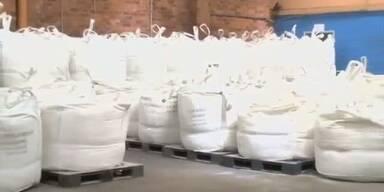 Polizei stellt 585 Kilo 'Crystal Meth' sicher