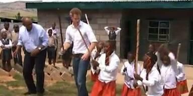 Prinz Harry in Afrika auf den Spuren Dianas