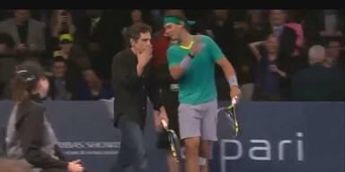 Legendär: Nadal & Ben Stiller im Tennis-Doppel