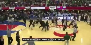 Basketballer gelingt Jahrhundert-Wurf