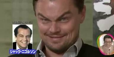 Leonardo DiCaprio imitiert Jack Nicholson