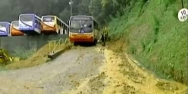 16 Tote nach Regen und Erdrutschen in Brasilien