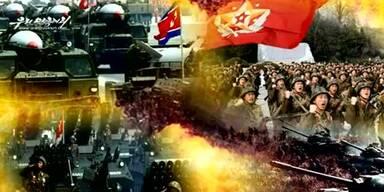 Nordkorea zeigt fiktiven Einmarsch in Seoul