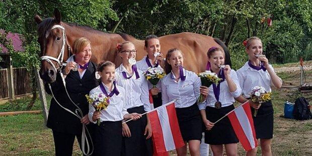 Österreich glänzt bei Voltigier-EM