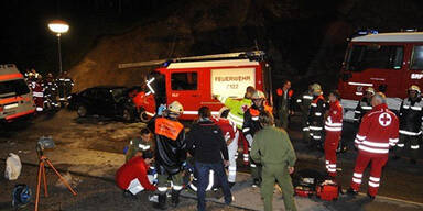 Unfall Feuerwehr Mösern Tirol