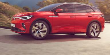 VW ID.4 GTX: Neues Top-Modell mit Allrad startet