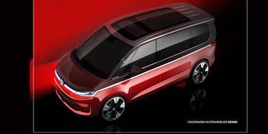 Weitere offizielle Infos zum neuen VW Bulli (T7)