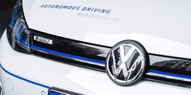 VW startet schon bald einen Robo-Taxi-Dienst
