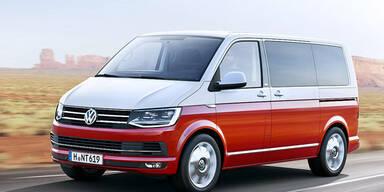 Das ist der neue VW Bulli (T6)