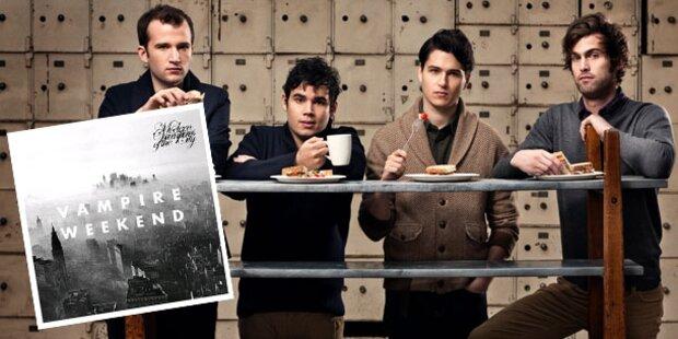 Vampire Weekend mit neuen Sounds
