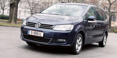 Der neue VW Sharan im Test