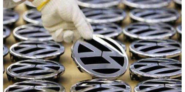Sonderschichten statt Kurzarbeit bei VW