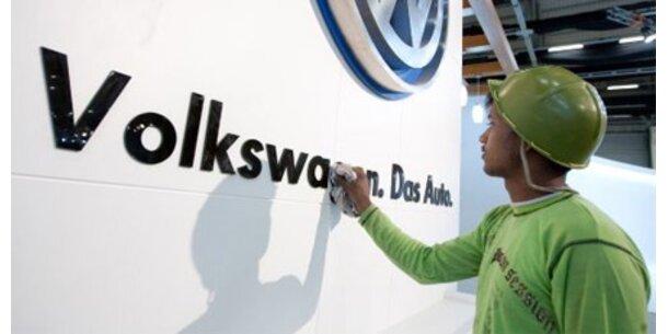 VW bald größter Autobauer