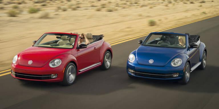 """VW enthüllt """"neues"""" neues Beetle Cabrio"""