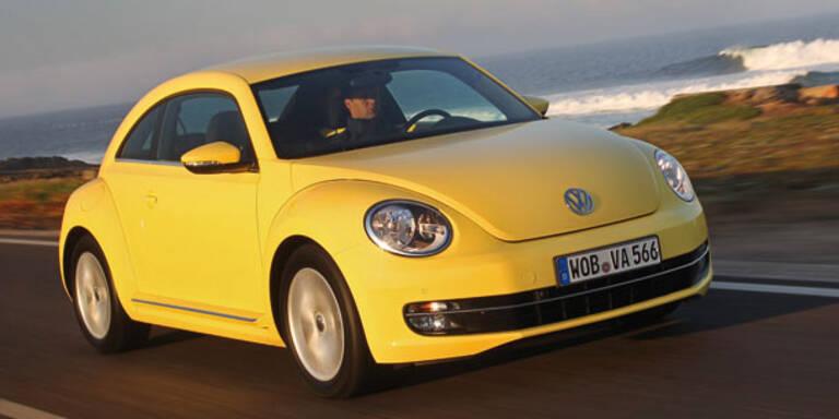 VW spendiert dem Beetle neue Antriebe