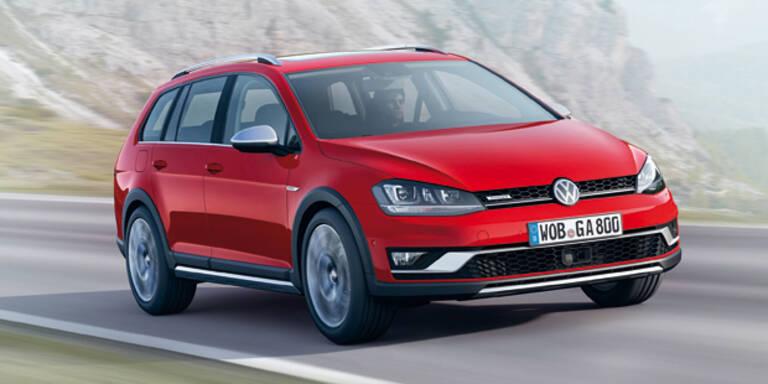 Weltpremiere des VW Golf Alltrack