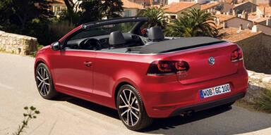 Österreich-Infos zum neuen Golf Cabrio