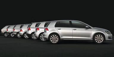 Volkswagen hat 30 Millionen Golf gebaut
