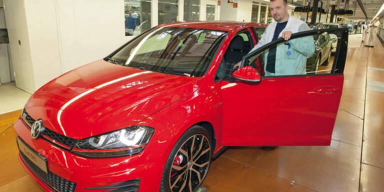 Produktionsstart des neuen Golf VII GTI