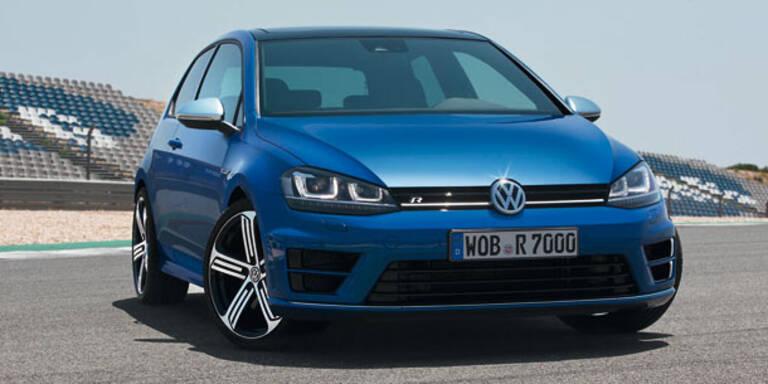 VW Golf VII R startet mit 300 PS durch