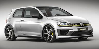 VW zeigt Golf R 400 mit satten 400 PS