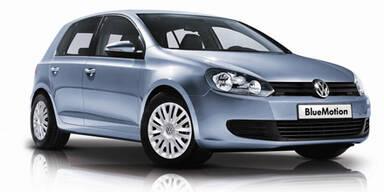 VW Golf Rabbit startet als Blue Motion