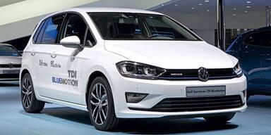 VW bringt den Golf Sportsvan TDI BlueMotion