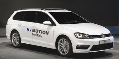 VW zeigt Golf mit Brennstoffzelle