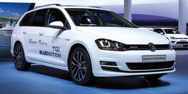 Neuer VW Golf Variant mit Erdgas-Antrieb