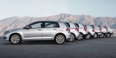 VW Golf feiert seinen 40. Geburtstag