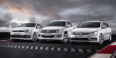 VW bringt neue 4Sports-Modelle an Start
