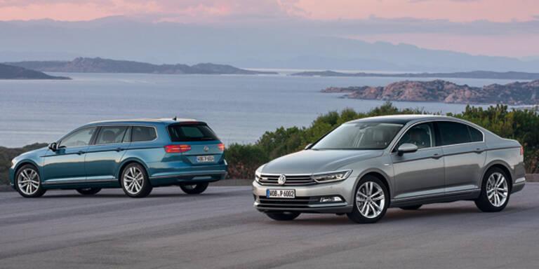 Neuer VW Passat (Variant) startet
