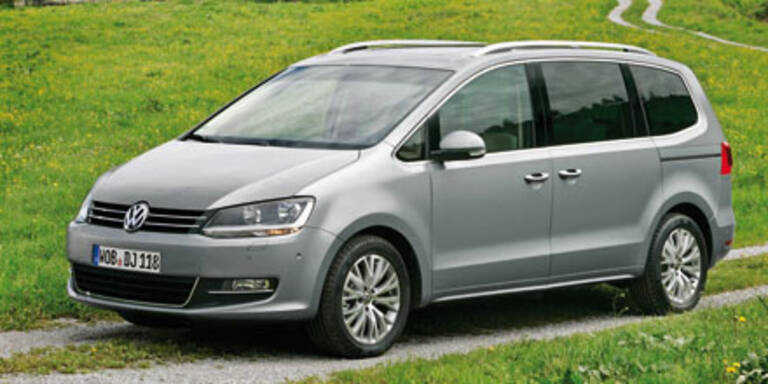 VW Sharan und Seat Alhambra mit Allrad