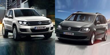 VW macht Tiguan und Sharan günstiger